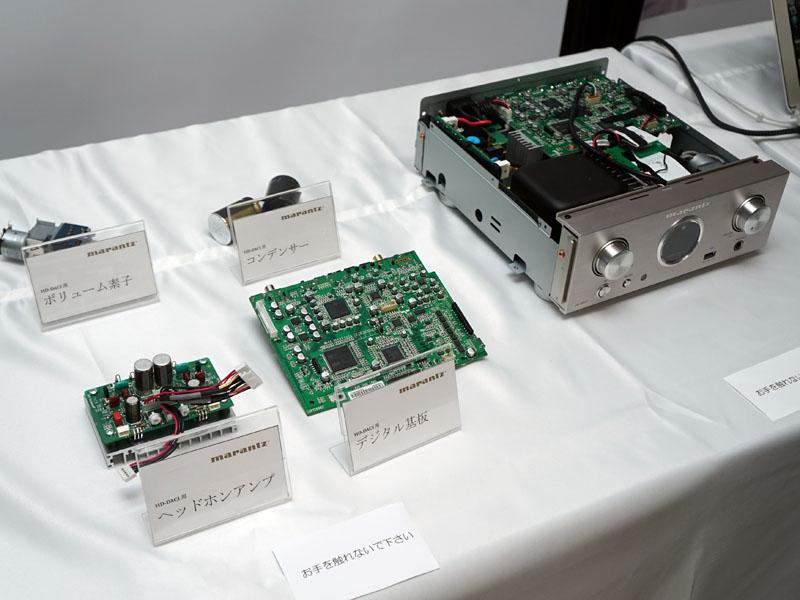 USB DAC/ヘッドフォンアンプ「HD-DAC1」の展示