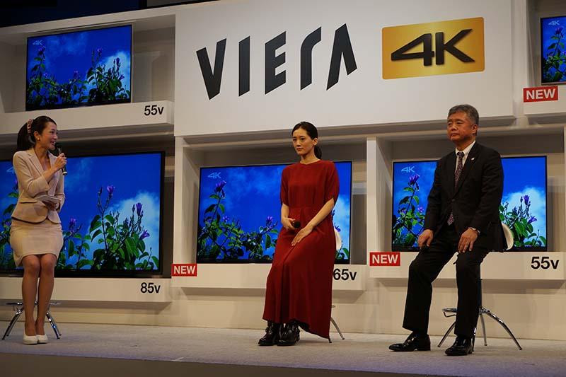ビューティフルジャパンのアンバサダーは綾瀬はるかさん。中島本部長とトークも
