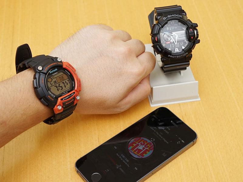 スマホ連携機能が充実したカシオの腕時計新モデル「GBA-400」と「STB-1000」