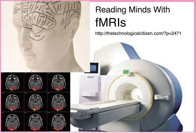 fMRIで、脳の血流が見える
