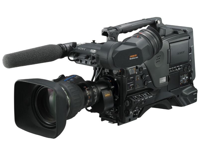 PowerHAD FX CCDブロック撮像素子を採用したHDCAMカムコーダ「HDW-650」('08年発売)
