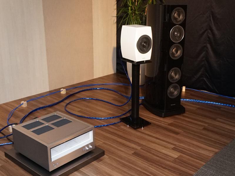 Technics試聴ブース、R1/C700シリーズの音が体験できる