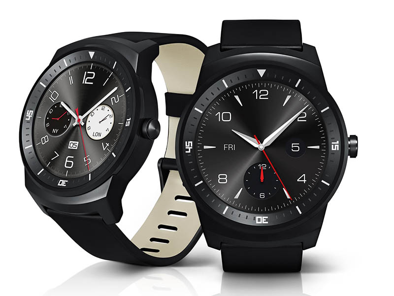 Android Wear端末の「G Watch R」