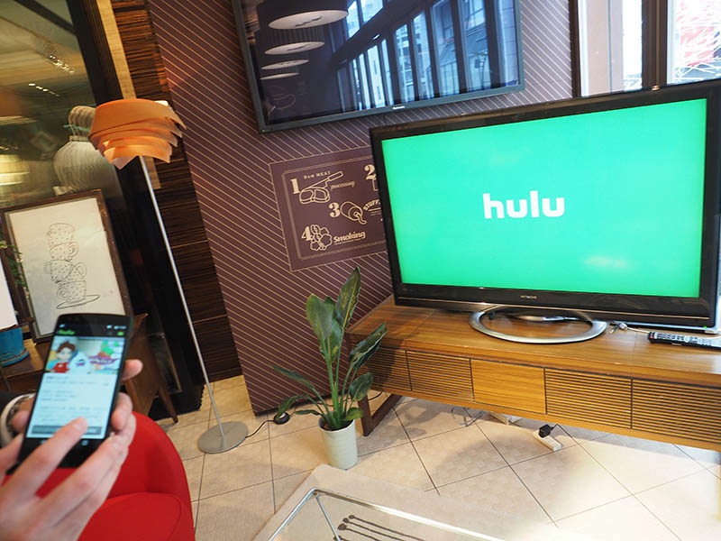 ChromecastがHuluに対応