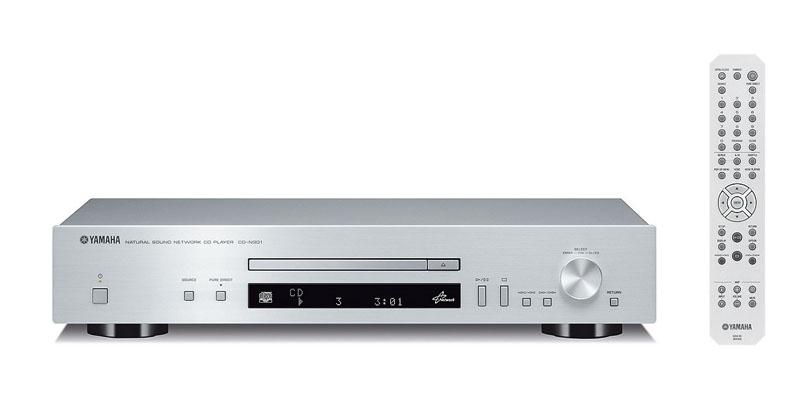 CD再生に加えて、ネットワーク再生も可能な「CD-N301」
