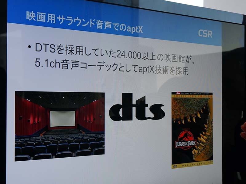 DTSに採用されたaptX技術