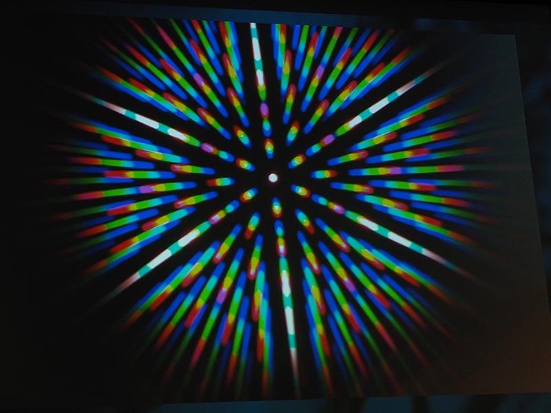 マイクロレンズを通った光をまとめて記録する