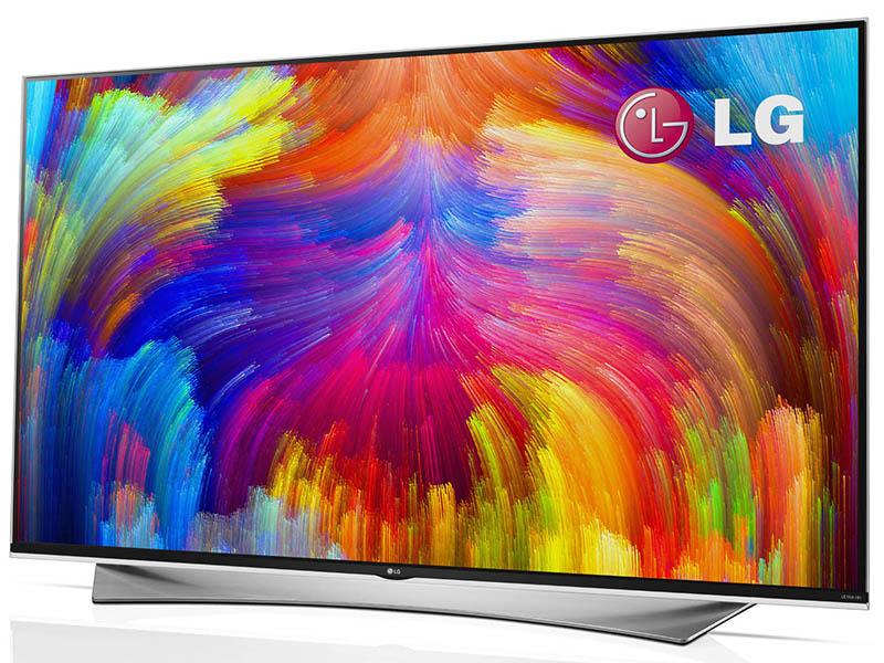 量子ドット技術を採用したLGの4K対応テレビ