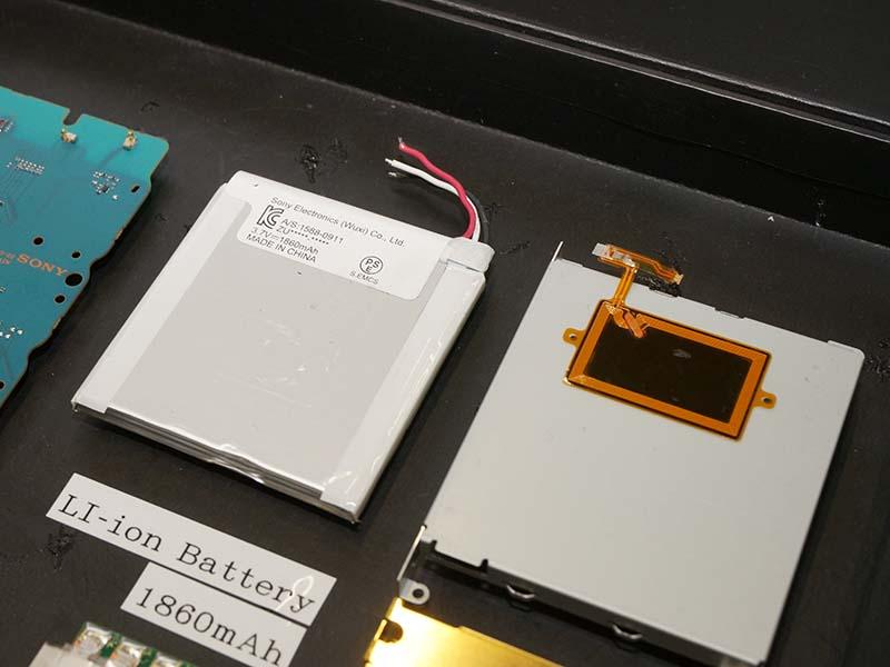 新開発のバッテリパック