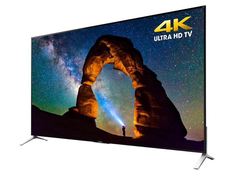 米国で発表された75型の4Kテレビ「XBR-75X910C」