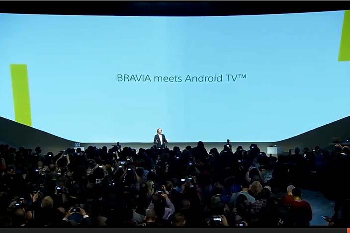 AndroidをBRAVIAに全面導入