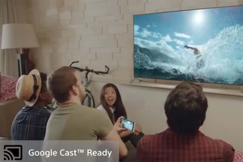 Google Castに対応