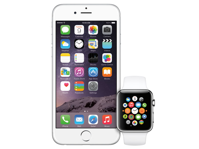 Apple WatchとiPhoneが連携
