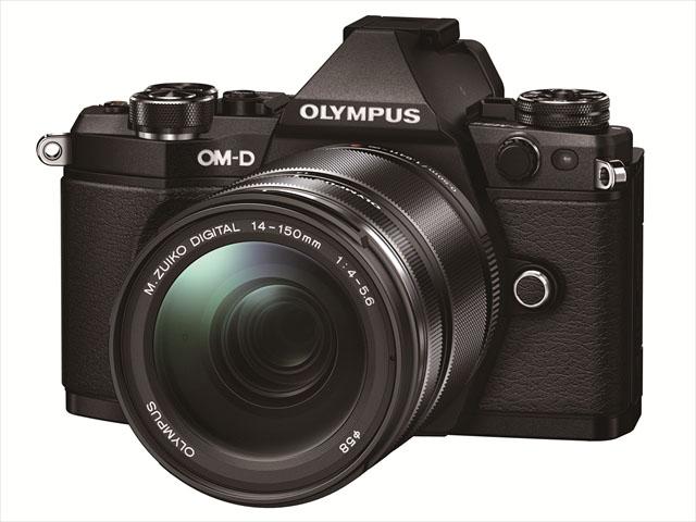 「OM-D E-M5 Mark II」に「M.ZUIKO DIGITAL ED 14-150mm F4.0-5.6 II」を装着したところ