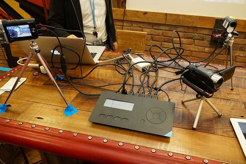 「LiveWedge」を使った、配信システムのイメージ