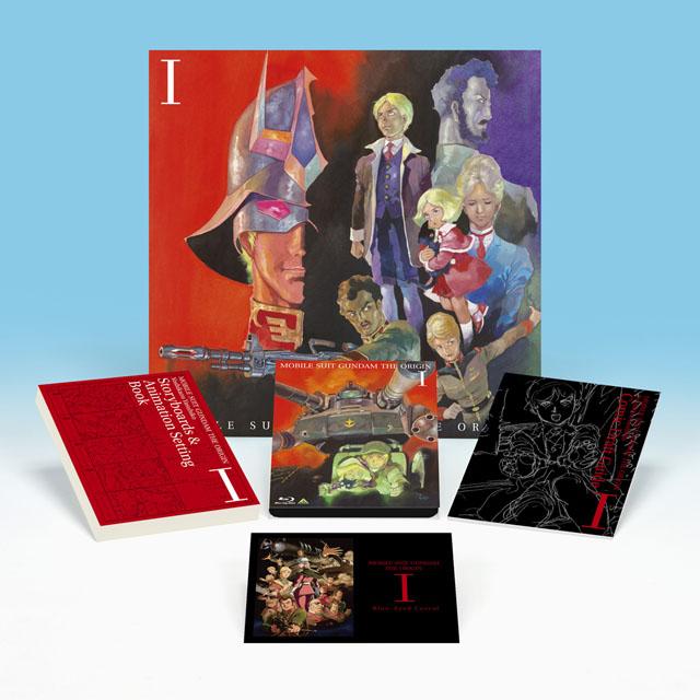 """機動戦士ガンダム THE ORIGINⅠ Blu-ray Disc Collector's Edition(初回限定版)<br class=""""""""><span class=""""fnt-70"""">(C)創通・サンライズ</span>"""