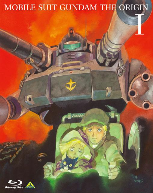 """機動戦士ガンダム THE ORIGINⅠ Blu-ray 通常版<br class=""""""""><span class=""""fnt-70"""">(C)創通・サンライズ</span>"""