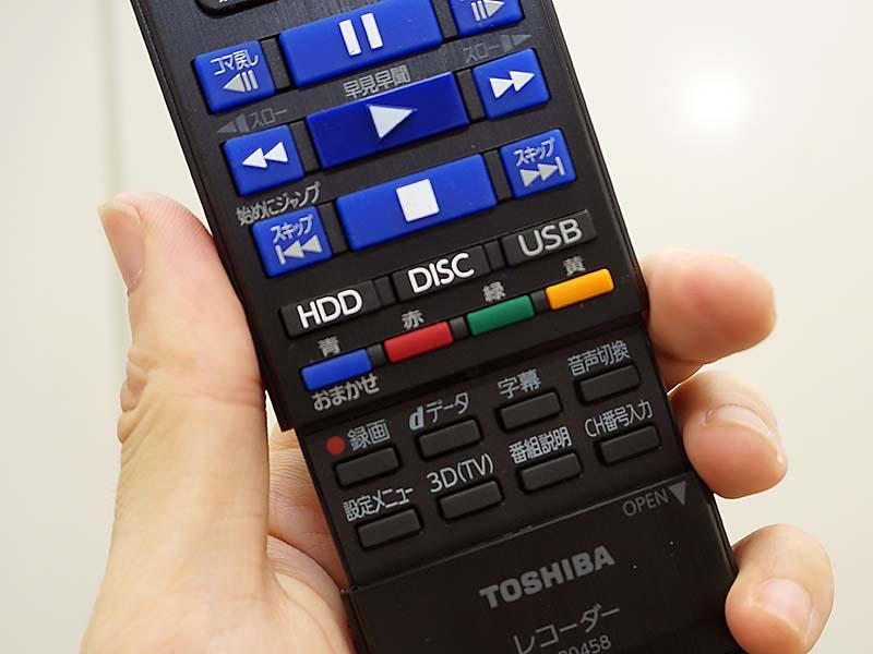 再生操作ボタンはサイズや形状を変えており、慣れれば手元を見ずに操作ができる。