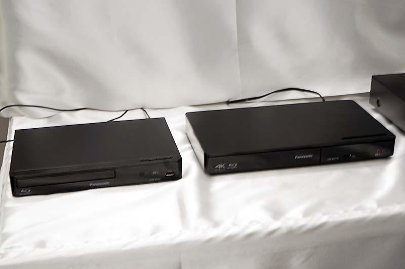 DMP-BDT170とDMP-BD85