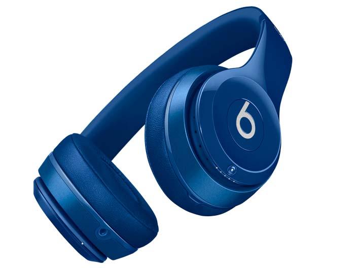 Solo2 ワイヤレスオンイヤーヘッドフォン(ブルー)