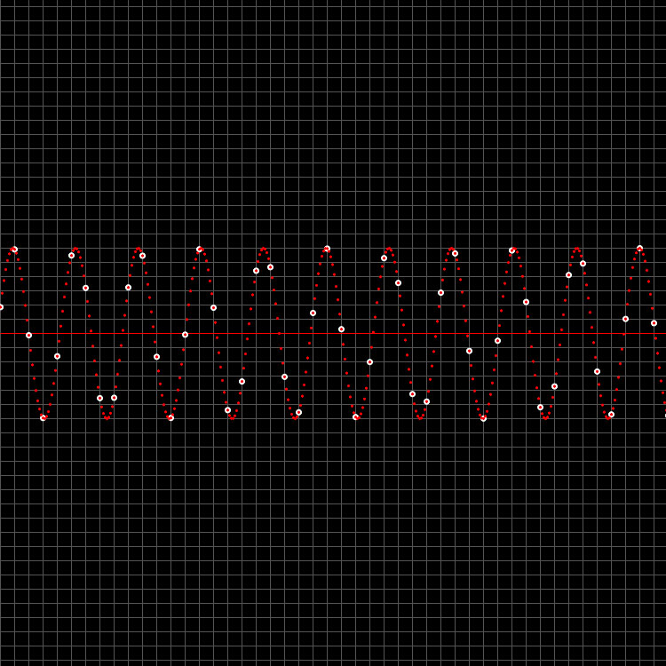 Hibikiエンジンで音を復元した波形