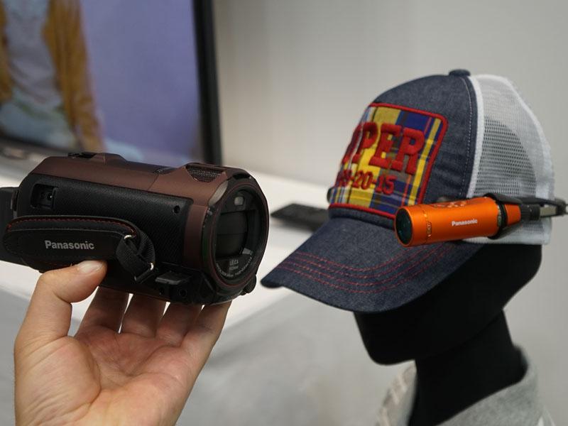 ワイプ撮り対応ビデオカメラの、ワイプ撮り用サブカメラとして使うこともできる