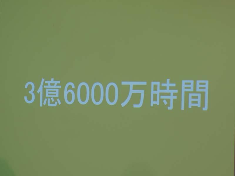 累計視聴時間は3億6,000万時間