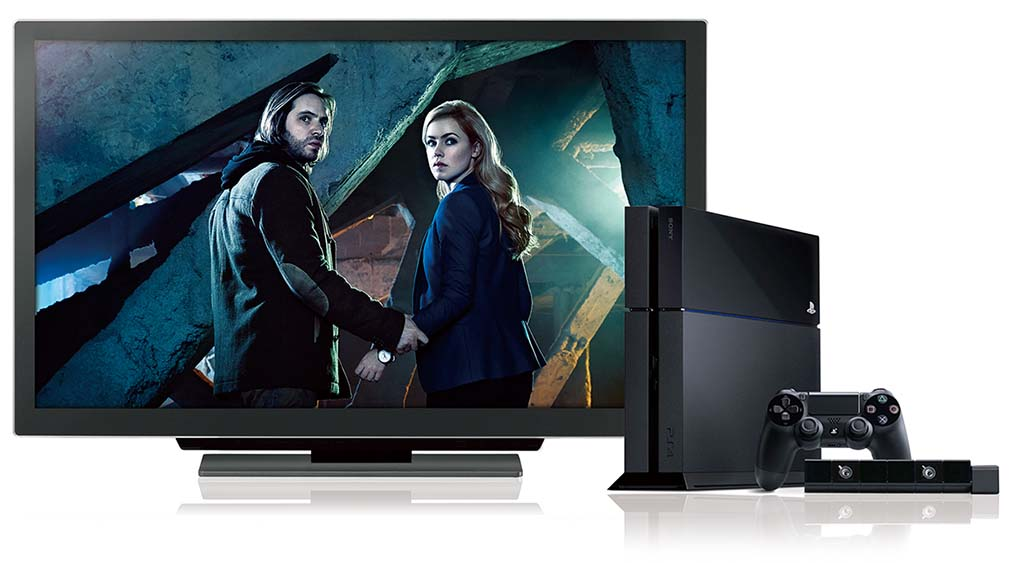 """PlayStation 4に対応。テレビドラマ「12 モンキーズ」は Hulu にて配信中<br class=""""""""><span class=""""fnt-70"""">(C)2015 NBCUniversal All Rights Reserved.</span>"""