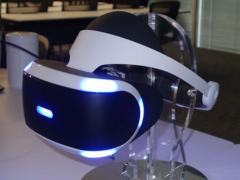 「Project Morpheus」最新試作モデル