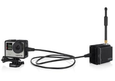 GoPro本体とHDMIケーブルで接続する「HEROCast」