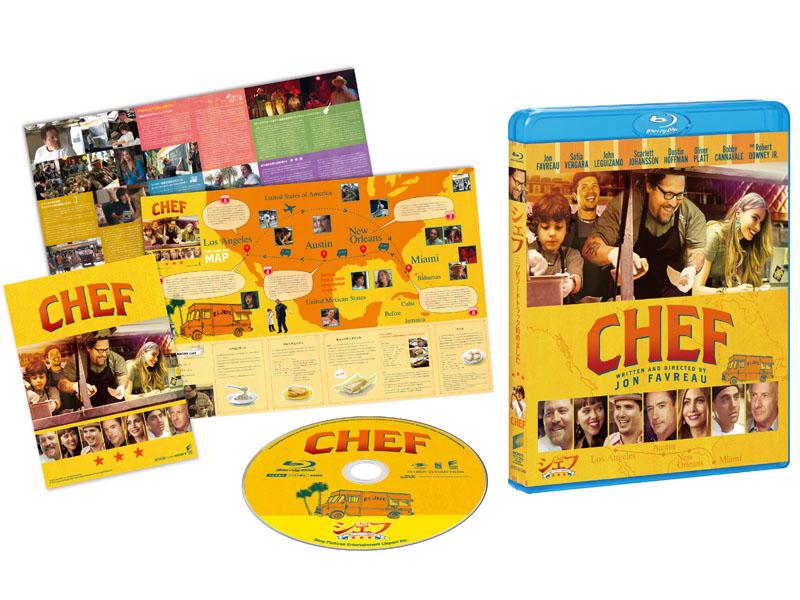 """シェフ 三ツ星フードトラック始めました Blu-ray<br class=""""""""><span class=""""fnt-70"""">(C)2014 Sous Chef, LLC.  All Rights Reserved.</span>"""