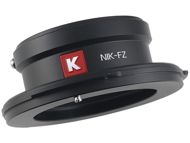 ニコンFマウントレンズ用の「NIK-FZ」