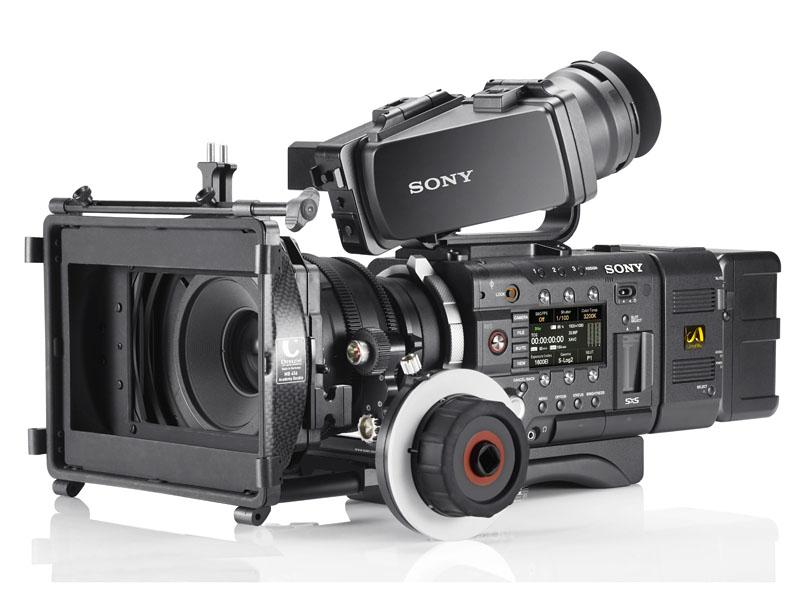 ソニーのCineAlta 4Kカメラ「PMW-F55」