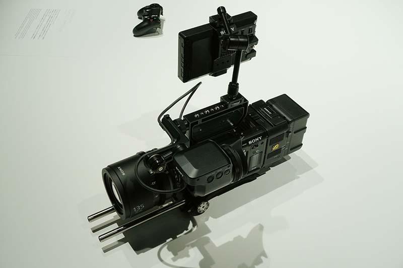 CineAlta 4Kカメラ「PMW-F55」