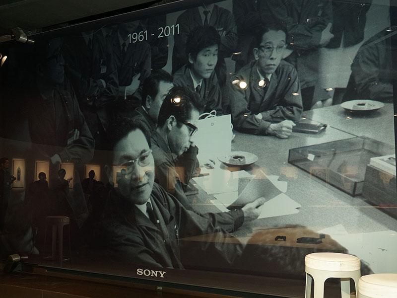 1961年に創立されたソニー社内のデザイナーチーム
