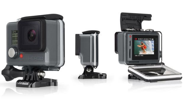 液晶ディスプレイをカメラの背面に一体化した「HERO + LCD」