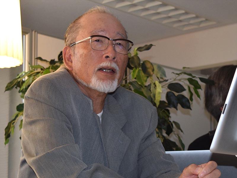 沢口真生(Mick沢口)氏が今回のレコーディングについて説明した