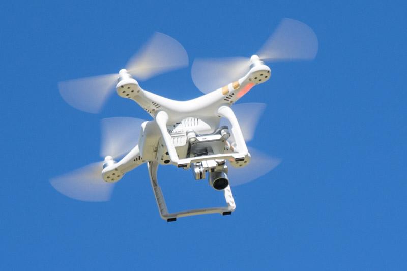 4K空撮が可能な「Phantom 3 Professional」