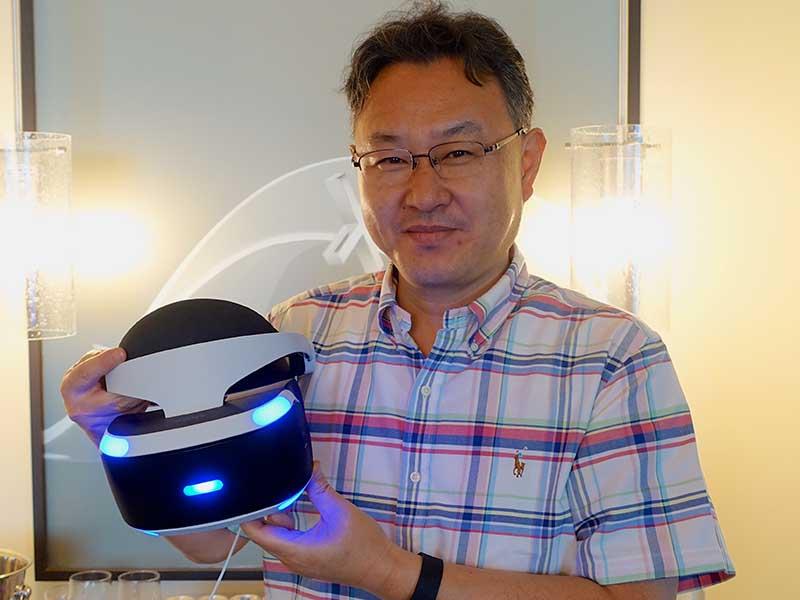 SCE・ワールドワイドスタジオ・プレジデントの吉田修平氏。今回はPS4世代のゲーム作りと、VRの可能性を聞いた