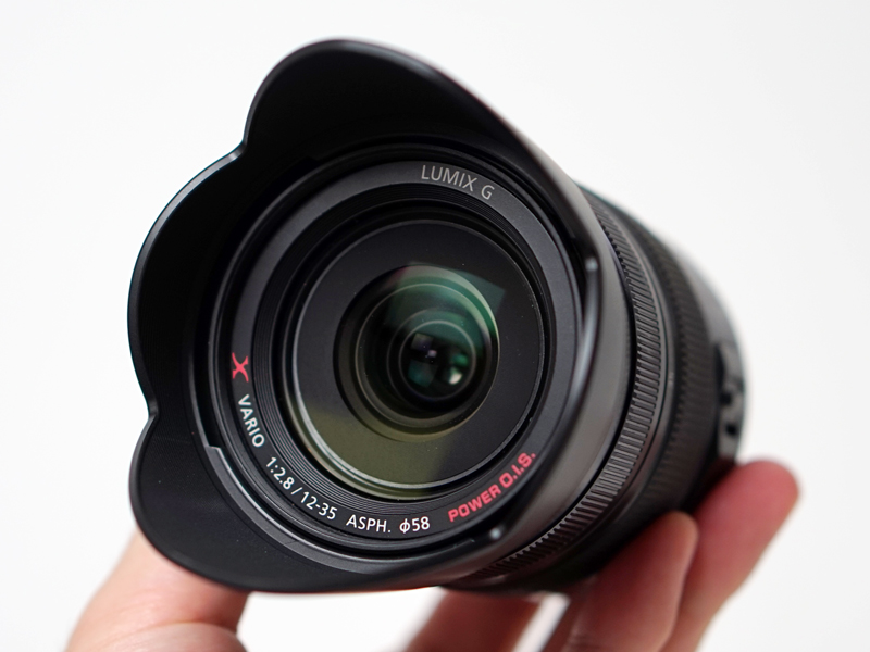 GH4の撮影でも使用したG X VARIO 12-35mm/F2.8