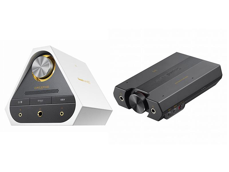 Sound Blaster E5(右)/X7/X7 Limited Edition(左)に対応
