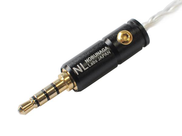 「蜉蝣」はアンプ接続側に4極ステレオミニプラグ採用