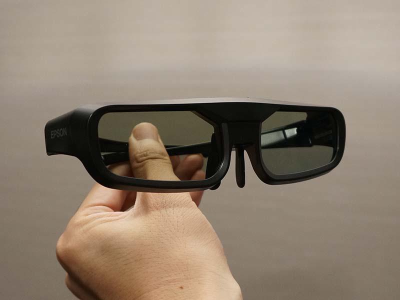 3Dメガネ「ELPGS03」は別売