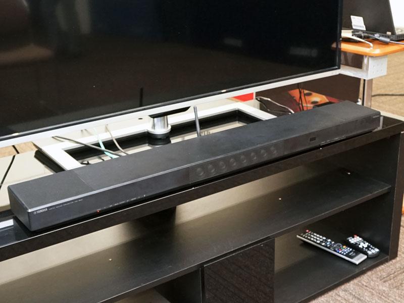 ヤマハの新サウンドバー、「YSP-1600」