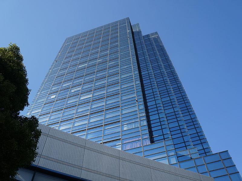 TOKYO AUDIO BASE会場の青海フロンティアビル。ゆりかもめ「テレコムセンター駅」に直結