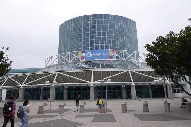 今年のSIGGRAPHはロサンゼルスで開催された。