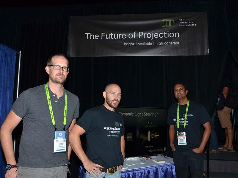 MTTの開発主要メンバー。左からJames Gregson氏、Johannes Minor氏、Raveen Kumaran氏