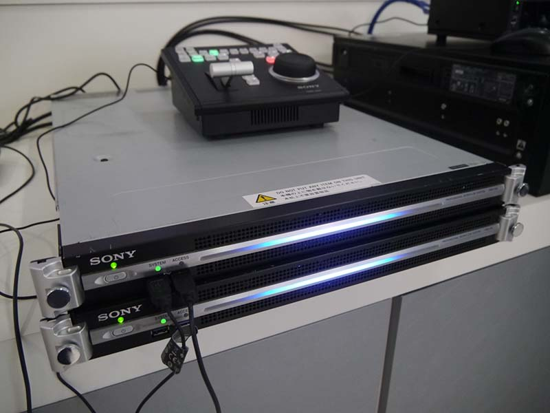 ネットワークRXソリューション「PWS-100RX1」。ソニー独自のQoS技術により安定したライブストリーミングを実現する