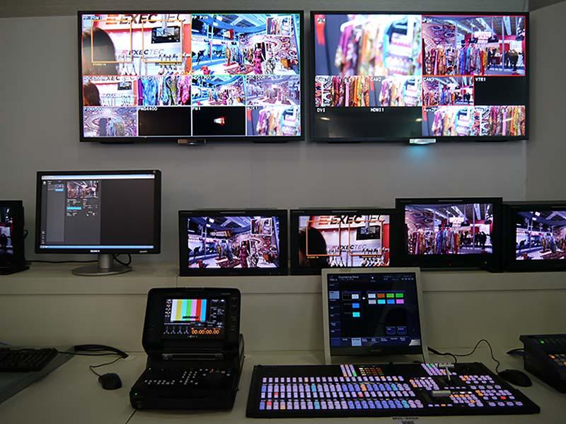 MVS-3000Aなどのスイッチャーソリューションを展示