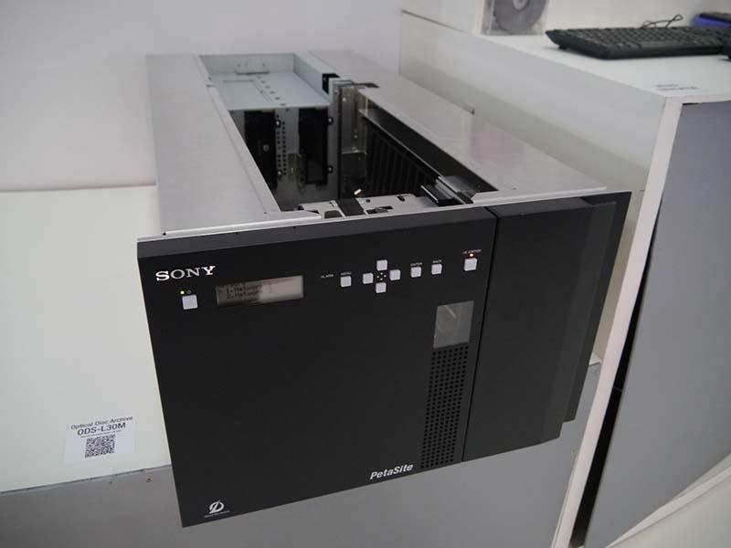 光ディスク技術を活用したオプティカルディスク・アーカイブソリューション「ODS-L30M」